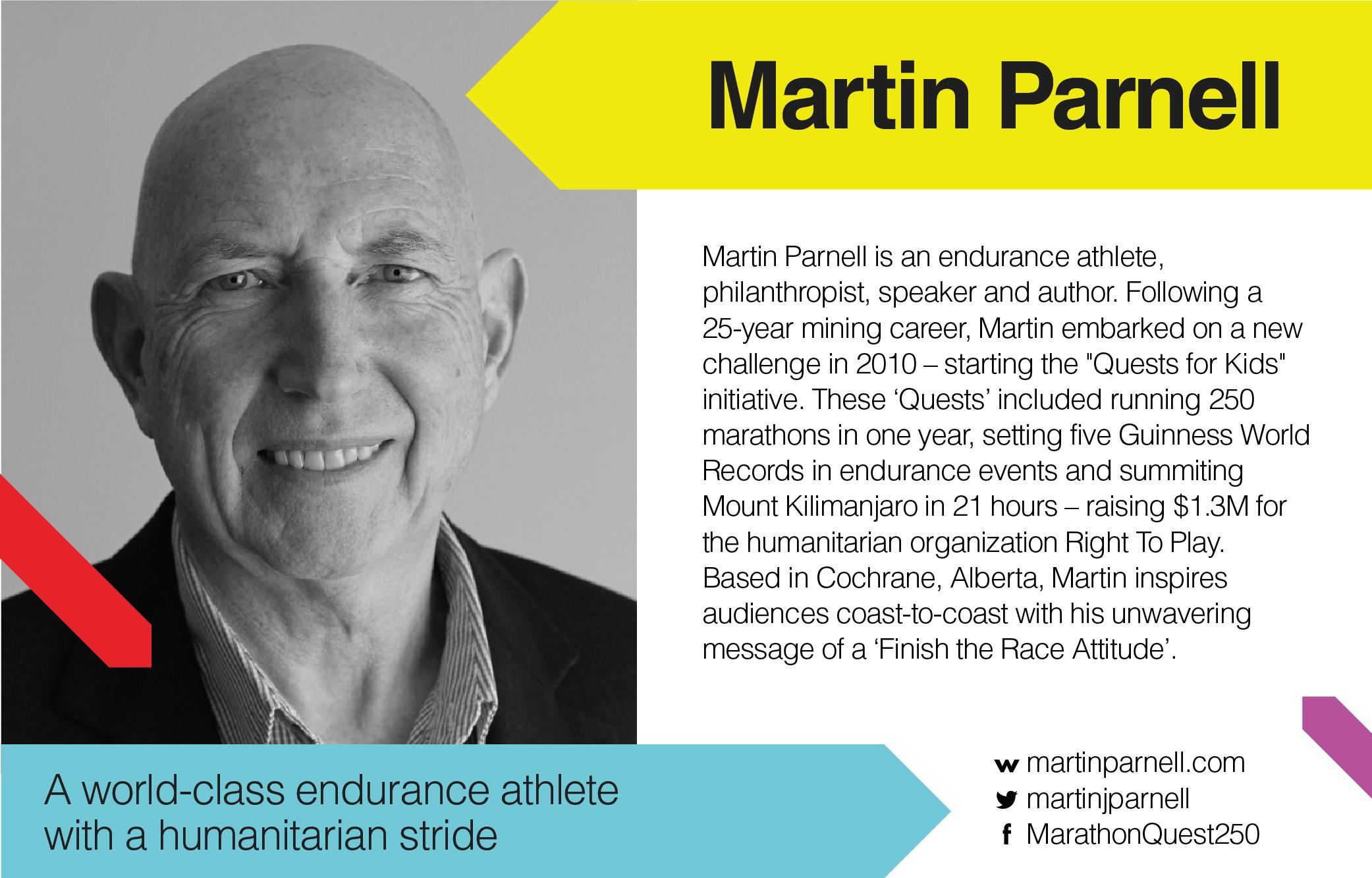 TEDxYYC 2017 presents Martin Parnell
