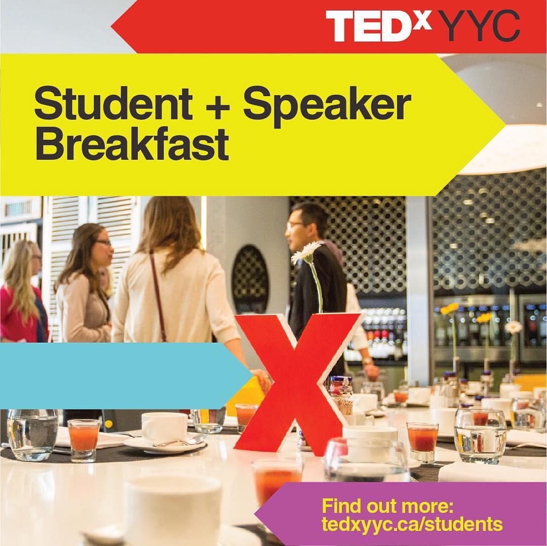TEDxYYC 2017 Presents Student Breakfast Winners
