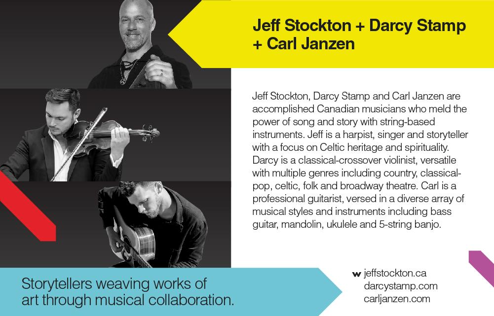 TEDxYYC 2017 Presents Jeff Stockton, Darcy Stamp & Carl Janzen