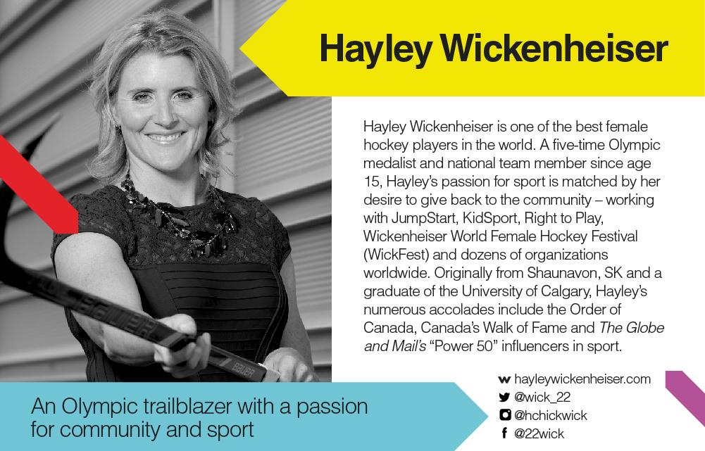 TEDxYYC 2017 Presents Hayley Wickenheiser