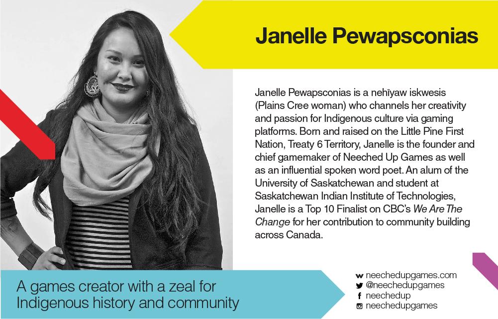 TEDxYYC 2017 Presents Janelle Pewapsconias