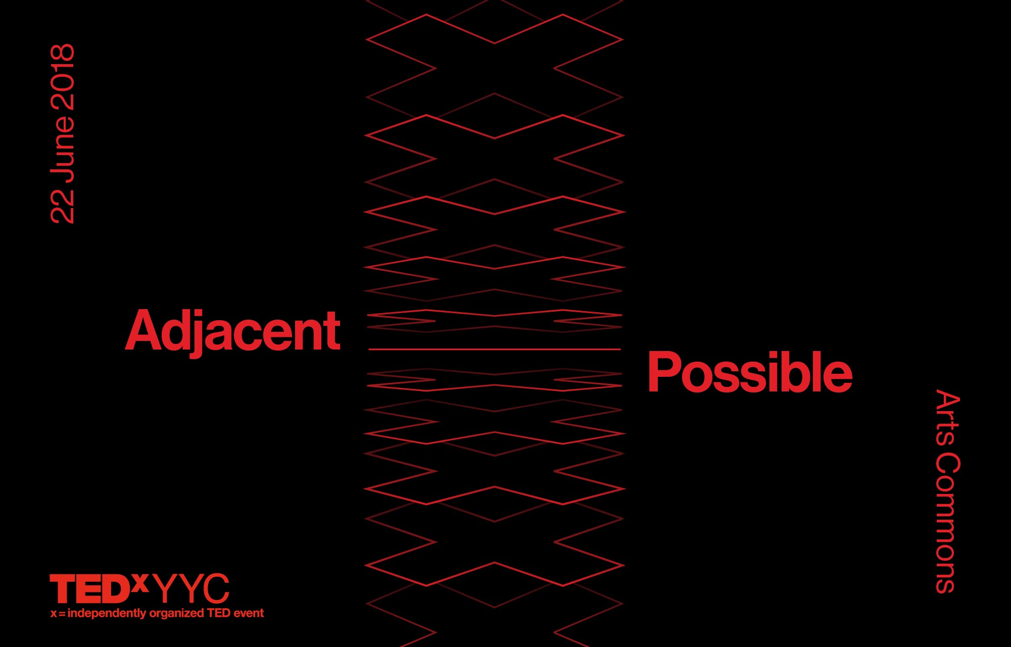 TEDxYYC 2018 Event Theme Announcement:  Adjacent Possible