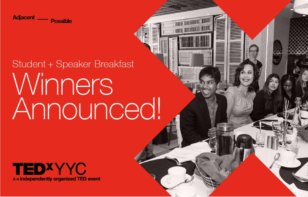 TEDxYYC 2018 Student + Speaker Breakfast Winners!