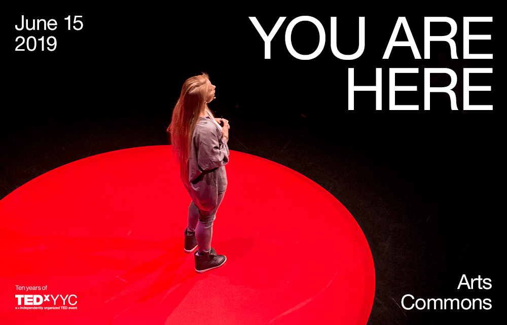 TEDxYYC 2019 Event Theme Announcement:  You Are Here