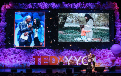 Leveling up:  TEDxYYC speakers