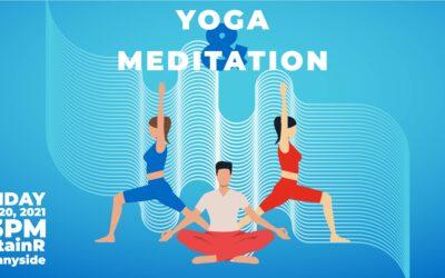 Yoga & Meditation – Free Public Event, June 20
